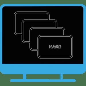 Icon Visitenkarte